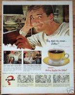 Vintage Coffee Ads and Artwork